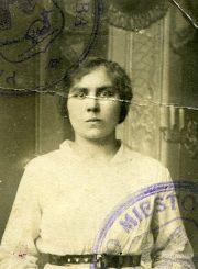 Motina Ieva Mikeliūnienė. Apie 1920–1925 m. PAVB F50-339-1