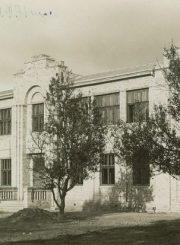 5. Panevėžio lenkų gimnazijos pastatas. 1931 m. Nuotrauka iš V. Vyšniausko kolekcijos