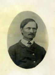 Nijolės Jankutės-Užubalienės senelis Kazimieras Jankevičius. Apie 1901 m. PAVB F130-147