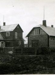 Antano Gabrėno tėvų namai Panevėžyje, Geležinkelio gatvėje. Panevėžys. Fotogr. A. Gabrėno.PAVB F87-65