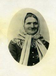 Nijolės Jankutės-Užubalienės močiutė Teresė Jankevičienė. Apie 1901 m. PAVB F130-150