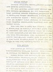 Vaivadienė, Vanda. Mano gyvenimo puslapiai [atsiminimų rankraštis]. Panevėžys, 1960–1988. 76 lap.