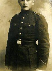 Antanas Gabrėnas karinėje tarnyboje. 1930 m. Fotogr. A. Gutnero. PAVB F87-66