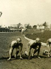 Karo mokykloje. A. Gabrėnas – 2-as bėgikas iš kairės. Kaunas. 1931 m. PAVB F87-78