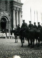 """Karo mokyklos """"gusarai"""". Kaunas. 1931 m. PAVB F87-78"""