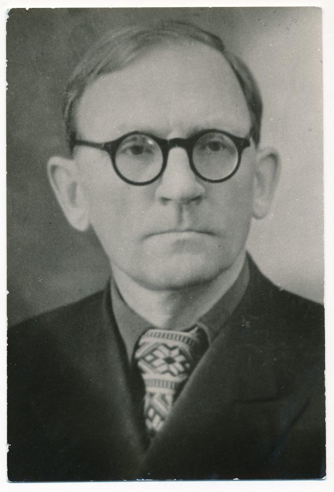 Venantas Morkūnas. Panevėžys. Apie 1950 m. PAVB F135-65