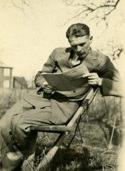 Antanas Gabrėnas studijų metais Kaune, Aleksote. 1934 m. PAVB F87-66