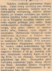 Morkūnas, Venantas. Veidrodžių gamyba: [straipsnis] // Panevėžio balsas. 1934, birž. 17, p. 4