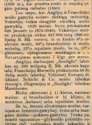 """[Morkūnas, Venantas]. Muilas: [straipsnis]. Parašas: """"Bitelės laborantas"""" // Panevėžio balsas. 1934, saus. 21, p. 4"""