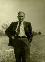 Antanas Gabrėnas apie 1950 m. PAVB F87-66