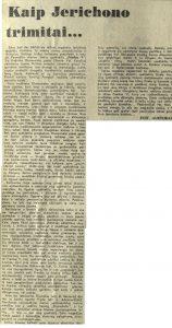 Kaip Jerichono trimitai ... Literatūra ir menas, 1969, kovo 29