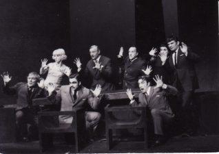 Scena iš spektaklio. PAVB FKV-191/1-77