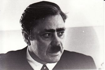 Donatas Banionis – Ernstas Šliumpfas. Fotogr. K. Vitkaus. PAVB FKV-192/14-5