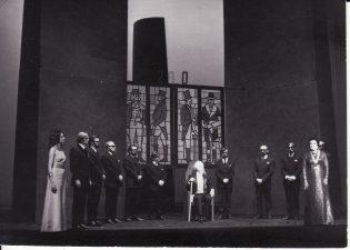 Scena iš spektaklio. Fotogr. K. Vitkaus. PAVB FKV-191/1-139