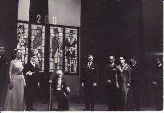 Scena iš spektaklio. Fotogr. K. Vitkaus. PAVB FKV-191/1-51