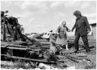 Apsilankymas pas tetą Katrę. Šilagalio kaimas, 1993 m.