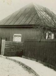 2. Senoji karaimų kenesa Panevėžyje. Nuotrauka iš Devoros Grigulevičienės archyvo