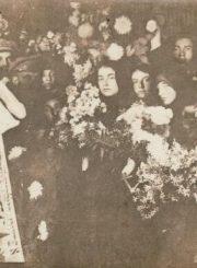 3. Š. Lopato laidotuvės. 1923 m. Nuotrauka iš Devoros Grigulevičienės archyvo