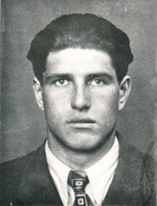 Jonas Stasiūnas – Panevėžio valstybinės gimnazijos abiturientas. 1940 m. PAVB F162