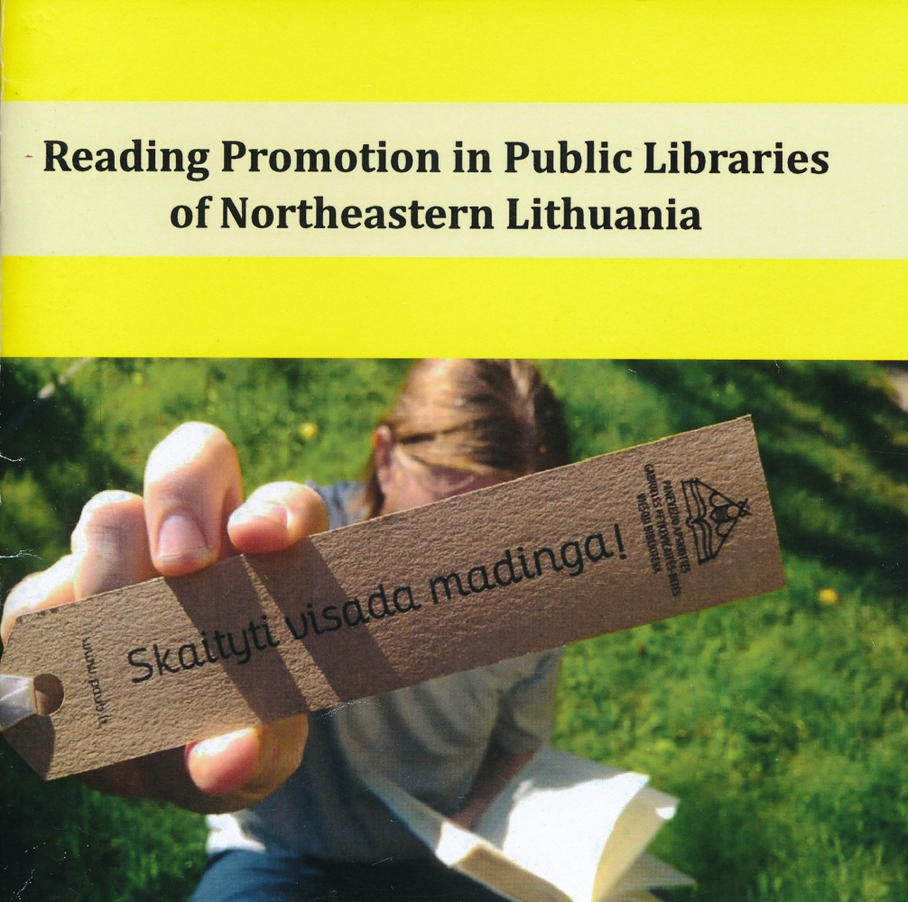Reading promotion in Public Libraries of Northeastern Lithuania