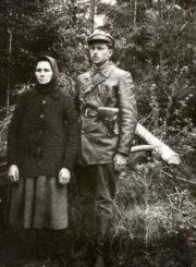 3. Vyčio apygardos partizano K. Tvaskos-Rugelio motina. 1948 m. Nuotrauka iš R. Kauniečio asmeninio archyvo