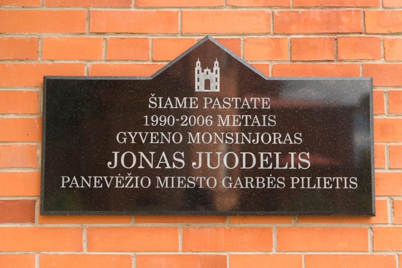Atminimo lenta Jonui Juodeliui. Nuotrauka Mazylis Media