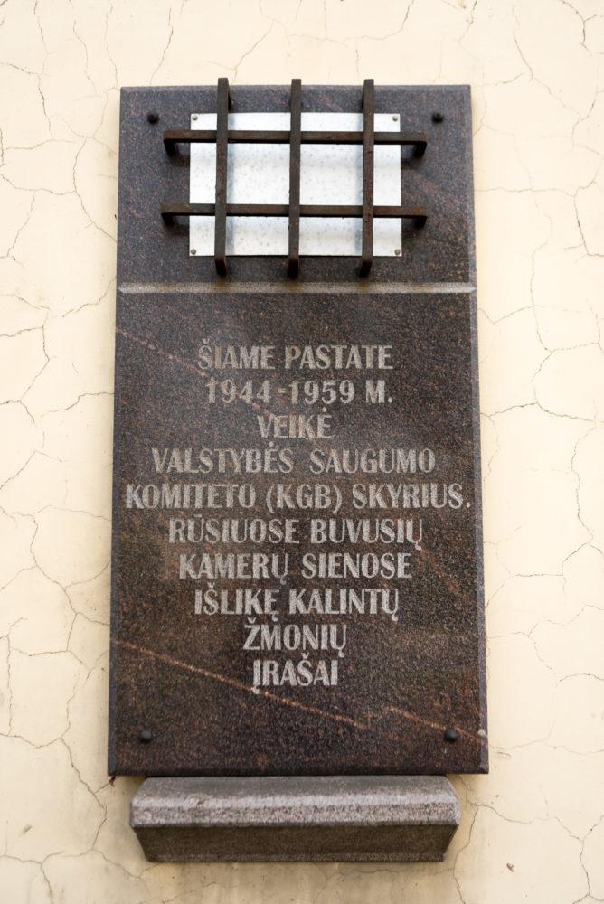 Atminimo lenta vokiečių belaisvių ir rezistentų kalinimui ir kankinimui atminti. Nuotrauka Mazylis Media