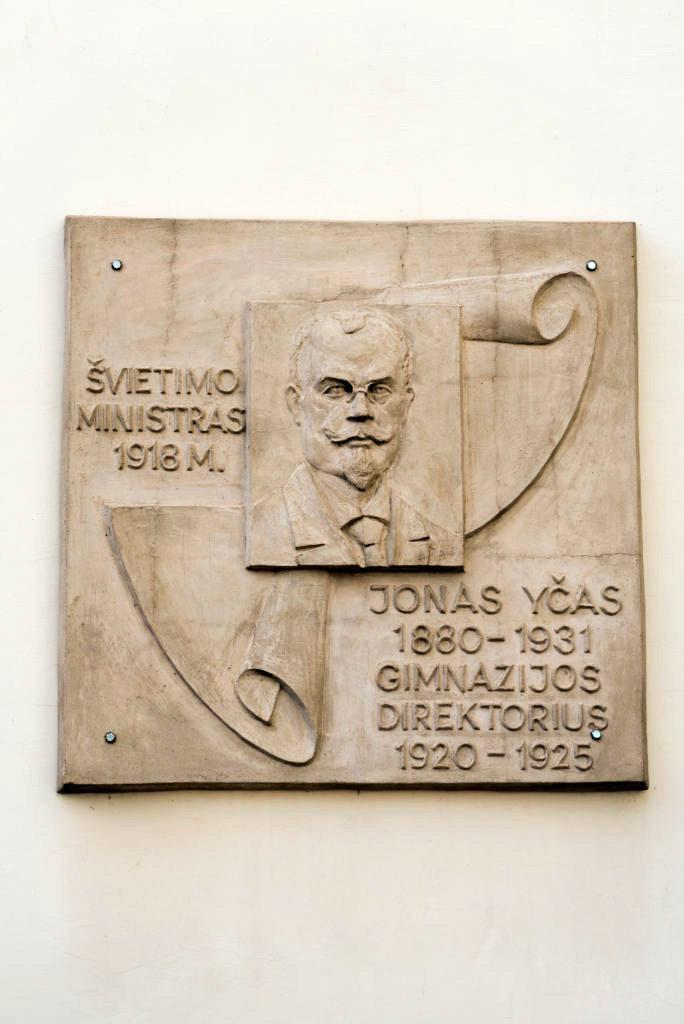 Jono Yčo bareljefas. Nuotrauka Mazylis Media
