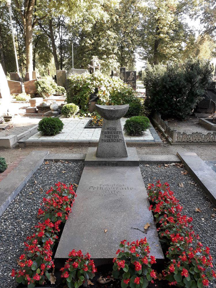 Rašytojos, visuomenės veikėjos Gabrielės Petkevičaitės-Bitės kapavietė. Astos Rimkūnienės nuotrauka