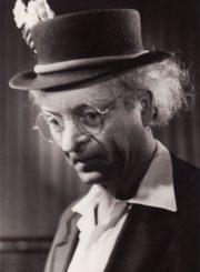 "B. Nušičius ""Dr. (Filosofijos daktaras)"", ( rež. J. Alekna, D. Banionis), 1956 m. Vytautas Karka – Dr. Raiseris. Fotogr. K. Vitkaus. PAVB FKV-131/2-1"