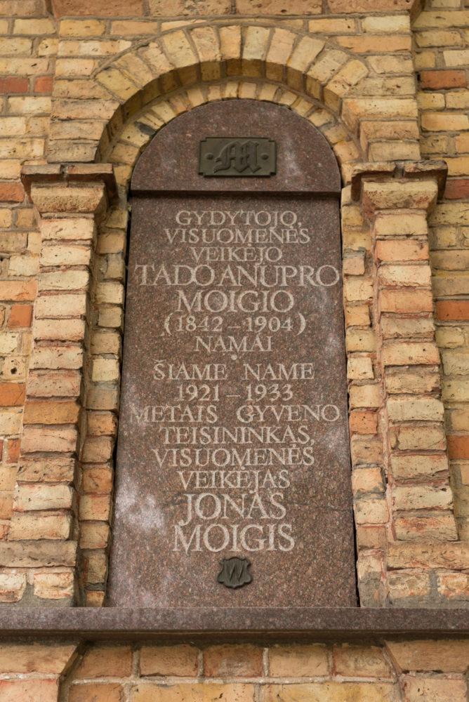Atminimo lenta Moigių šeimai. Nuotrauka Mazylis Media