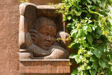 Atminimo lenta Salomėjai Nėriai. Nuotrauka Mazylis Media