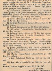 Vyriausybės žinios, 1934, rugs. 7, p. 3, eil. nr. 3168