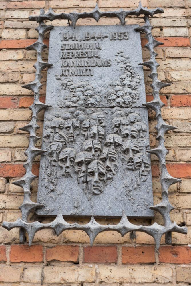 Atminimo lenta stalinizmo aukoms atminti. Nuotrauka Mazylis Media