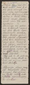 Gabrielės Petkevičaitės-Bitės kalbos, pasakytos atidarant Steigiamąjį Seimą, autorinis rankraštis. LMAVB F190-37, l.1
