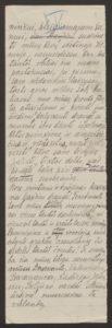Gabrielės Petkevičaitės-Bitės kalbos, pasakytos atidarant Steigiamąjį Seimą, autorinis rankraštis. LMAVB F190-37, l.4