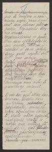 Gabrielės Petkevičaitės-Bitės kalbos, pasakytos atidarant Steigiamąjį Seimą, autorinis rankraštis. LMAVB F190-37, l.5