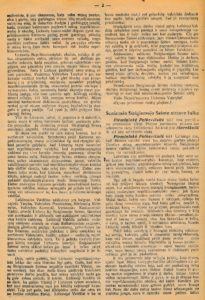 Gabrielės Petkevičaitės-Bitės kalbos, pasakytos atidarant Steigiamąjį Seimą, stenograma. Steigiamojo Seimo darbai: [posėdžių stenogramos]: 1920 m. 1-sis sąs., p. 2. PAVB S 2093