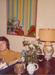 Dailininkas Vytautas Osvaldas Virkau. Čikaga. 1973 m. Panevėžio apskrities Gabrielės Petkevičaitės-Bitės viešoji biblioteka. Algirdo Neveravičiaus fondas F143-724