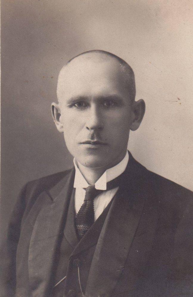 Juozas Balčikonis. Panevėžys. 1920 m. Maironio lietuvių literatūros muziejus, MLLM F1 17367