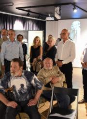 Inovatyvios ir šiuolaikiškos ekspozicijos atidarymas Juozo Miltinio palikimo studijų centre 2018 m.