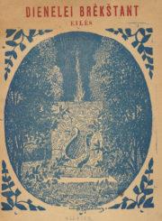 Tilvytis, Jurgis. Dienelei brėkštant. Utena, 1909. 54 p. : iliustr.
