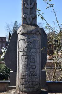 Benedikto Puodžiukaičio antkapinis paminklas. Astos Rimkūnienės nuotrauka