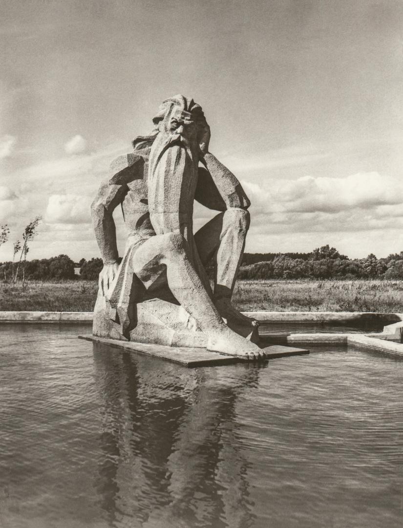"""""""Nevėžis"""". Aut. B. Bučas. Panevėžio kraštotyros muziejus. 15021 F2955"""