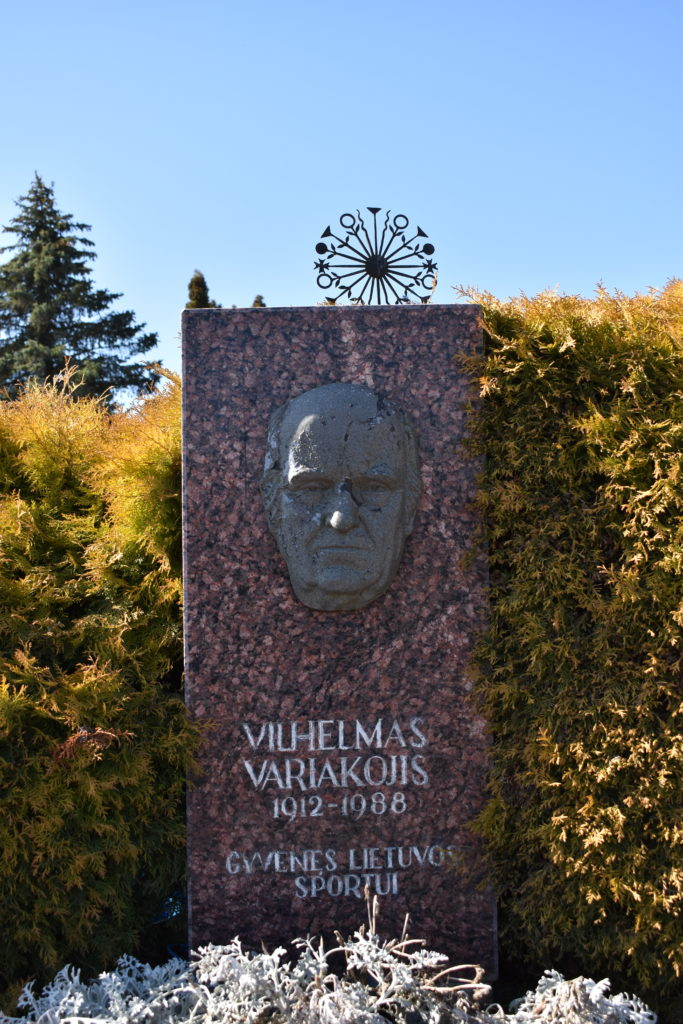 Vilhelmo Variakojo antkapinis paminklas. Astos Rimkūnienės nuotrauka