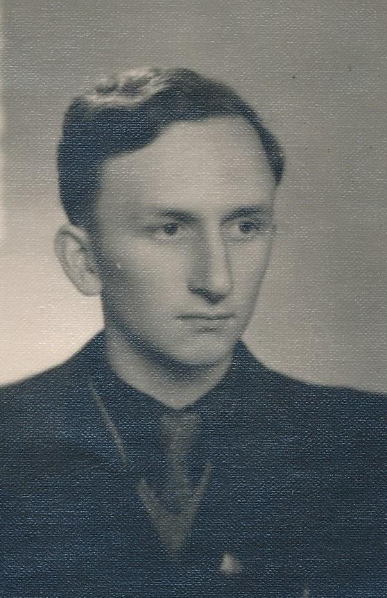 Vytautas Vilkončius. Panevėžys. 1951 m. Panevėžio apskrities Gabrielės Petkevičaitės-Bitės viešoji biblioteka, Motiejaus Lukšio rankraščių fondas F68-124