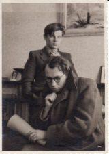 Vaclovas Blėdis ir Juozas Miltinis. 1941 m. PAVB FJM-1018/14