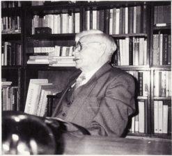 Vaclovas Blėdis. Panevėžys, 1992 m. Fotogr. Juozo Šlivinsko. PAVB FJM-871/8