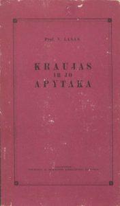 Kraujas ir jo apytaka / V. Lašas. Vilnius, 1958. PAVB C 1183