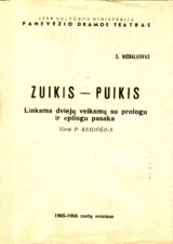 "S. Michalkovas ""Zuikis Puikis"" (rež. V. Blėdis), 1965 m."